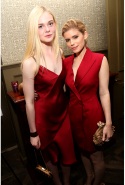 With Kate Mara in 2014