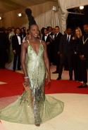 Lupita Nyong'o at the 2016 Met Gala