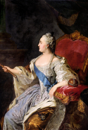 Catherine the Great ('Catherine II' by Fedor Rokotov)