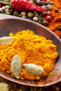 Turmeric This powerful yellow powder is a powerhouse of antioxidants. It is one of the most powerful anti inflammatory foods on the planet. I recommend you have it every day mixed with water.