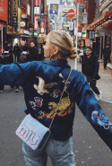 Swedish model Elsa Hosk spent Thanksgiving in Tokyo, Japan like a true tourist, visiting all the big sites and attractions, in style of course!