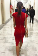 She's a vocal advocate for public funding of the arts (here she is striding the halls of Capitol Hill to campaign).