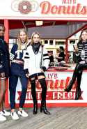 Tommy Hilfiger's pier show kicked off first