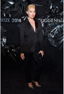 At the Hugo Boss Prize 2014, Guggenheim Museum New York, November 20, 2014