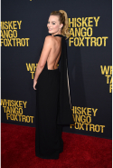 At the 'Whiskey Tango Foxtrot' world premiere in New York, March 1, 2016