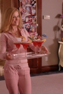 The tracksuit got a send up in 2004's 'Mean Girls' - Amy Pohler's cool mummy rocked a pink pair.