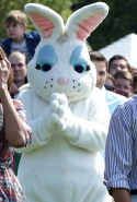 At the the annual White House Easter Egg Roll on the South Lawn April 21, 2014 in Washington, DC
