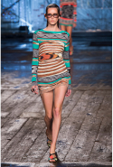 Missoni: a hint of animal skin