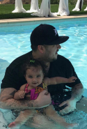 Rob Kardashian and daughter Dream