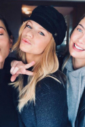"Megan Williams, Nadine Leopold and Georgia Fowler headed to Tokyo together for the ""most fun girls trip ever."""