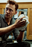 Tom Hiddleston, 35, got lucky playing villain Loki in 'Thor' and he's played the character since 2011, while also starring in 'Midnight in Paris', 'Only Lovers Left Alive' and 'High-Rise'... and the Taylor Swift show ;)