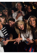 Yolanda Foster, Anwar Hadid, Taylor Swift and Martha Hunt cheered Gigi on