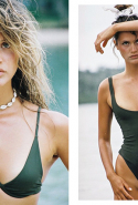 Bamba: Inspired by the 80s, Bamba swim designs separates in high-rise and cheeky cuts that you can mix and match.