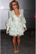 Beyoncé in Zimmermann dress.