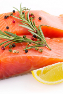 Salmon, mackerel, sardines – the holy grail of oily fish are a rich source of omega-3 fatty acids, which work to calm inflammation. Soothes any zit situation right down.