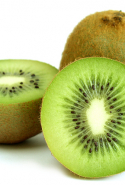 Kiwi fruit - a key vitamin vessel. This furry little fruit rejuvenates skin, eliminates evil toxins and slays it at the skin tone workout session.