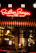 Brother Burger and The Marvellous Brew: Fitzroy (413 Brunswick St, Fitzroy, Victoria 3065) and South Yarra (560 Chapel St, South Yarra, Victoria 3141)