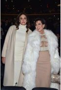 With ex-wife Kris Jenner at the Kanye West Yeezy Season 3 show in New York in February