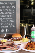 Jazz City BBQ, Surry Hills, Sydney: This Texan barbecue and diner joint serves up dude food with soul. The menu takes it traditional via pulled pork sandwiches, coleslaw, beef short ribs, beef brisket, and cornbread.