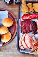 The Oxford Tavern, Petersham, Sydney: This Petersham local is stacked with all Uncle Sam's favourite flavours - classic cheeseburgers, BBQ corn, chilli double dawg, and pulled pork tacos. Come the weekend authentic American smoked meats issue forth from Black Betty - their aptly named barbecue.
