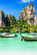 Thailand: Kate Moss and her glossy posse are frequent Phuket fliers for detox/retox resort fun. The palm frond beaches and balmy climes also present tropical sunset reasons to add it to the vacation visit list.