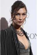 1. Bella Hadid. Age: 19. Claim to fame: Sister to Gigi, daughter to Yolanda 'The Real Housewifes of Beverly Hills' Hadid, GF of The Weeknd's Abel Tesfaye, Bella has starred in Balmain and Topshop campaigns and walked for the likes of Miu Miu, Givenchy and Chanel - all without cracking a smile.