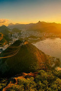 Rio de Janeiro, Brazil. If you can secure accommodation, get there in time for the summer 2016 Olympic Games (duh). If not? It's still a great holiday pre-August 5, and probably a lot less hectic.