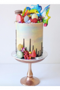 @cakesbycliff: is a fancifully sweet trip through cake land. The Mad Hatter would feel right at home.