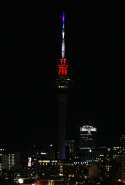The Auckland Sky Tower, Auckland, New Zealand