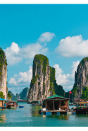 16. Ha Long Bay, Vietnam.