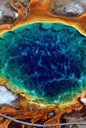 17. Grand Prismatic Spring, Yellowstone National Park, USA.