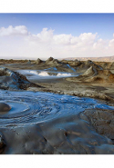 20. Mud Volcanoes, Gobustan National Park, Azerbaijan.
