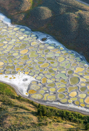 28. Spotted Lake, British Columbia, Canada.