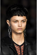 5. Micro bangs. Baby fringes are only for the brave, but the model crew at Alexander Wang wore them so well - all jagged edges and scarily short - that it's all anyone was talking about.