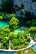23. Plitvice Lakes National Park, Croatia.