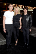 Pamela Anderson and Brandon and Dylan Lee