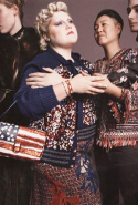 Beth Ditto and wife Kristin Ogata