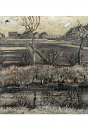 Vincent van Gogh, Nursery on Schenkweg April–May 1882 The Hague black chalk, graphite, pen and brush and ink, heightened with white 29.6 x 58.5 cm The Metropolitan Museum of Art, New York Bequest of Walter C. Baker, 1971 (1972.118.281)