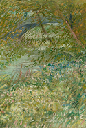 Vincent van Gogh, River bank in springtime June 1887 Paris oil on canvas 48.9 x 58.1 cm Dallas Museum of Art, Texas Gift of Mr and Mrs Eugene McDermott in memory of Arthur Berger (1961.99)