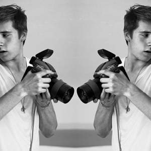 Oh boy: Brooklyn Beckham has shot a Burberry fragrance campaign