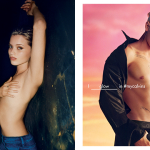 You should see who's in the new Calvin Klein campaign
