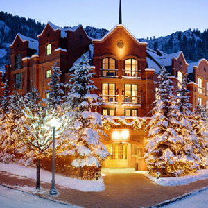 11 unbelievable hotels to experience a white Christmas