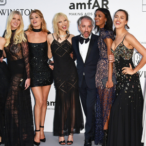 ALL the models take on Cannes at the 2016 amFAR gala