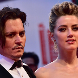 Johnny Depp and Amber Heard arrive in Gold Coast for dog trial