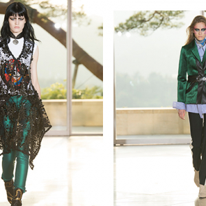 See every incredible look from Louis Vuitton's Cruise 2018 Kyoto show