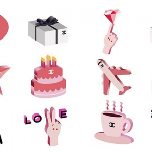 Chanel's new emojis are the only text you need