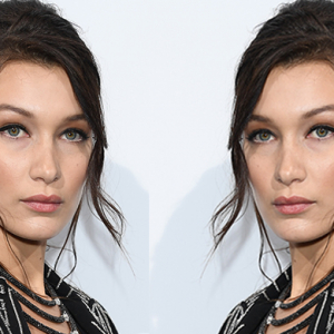 Bella Hadid's beauty transformation