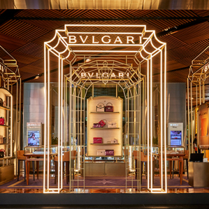 You need to pop into Bulgari's Sydney pop-up store