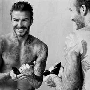 Of course David Beckham is launching a grooming range