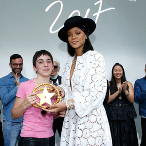 This talented young designer just won a fashion gold medal